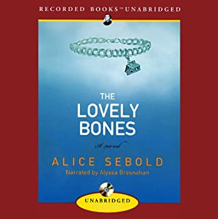 The Lovely Bones audiobook cover art