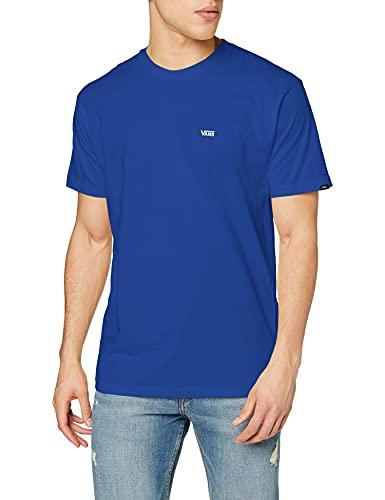 Vans Left Chest Logo tee Camiseta, Ultramarino Profundo, XL para Hombre