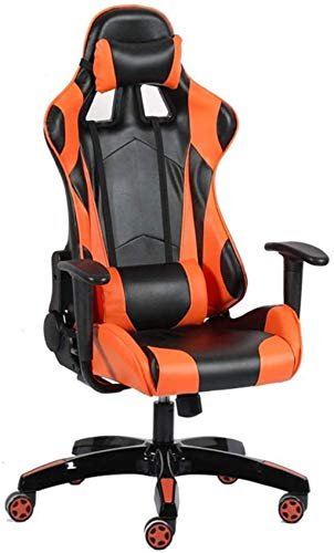 N/Z Life Equipment Drehbarer Gaming-Stuhl aus PU-Leder mit hoher Rückenlehne Racing Office Chair Armchair