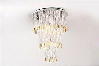 GOWE Modern E14 halogen bulbs Crystal Chandelier circles Pendant Lamp RainDrop suspension Light lighting 110V/ 240V body c...