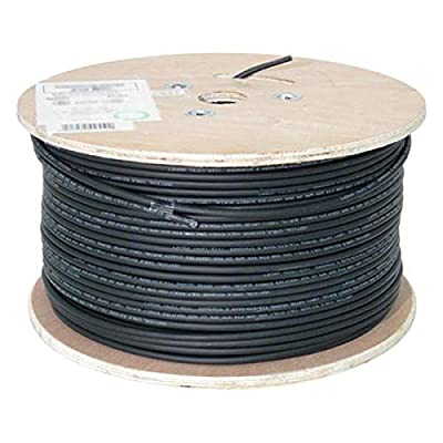 Solar Cable PV Wire, 10AWG, UL4703 , 600VDC, Black, 500' spool