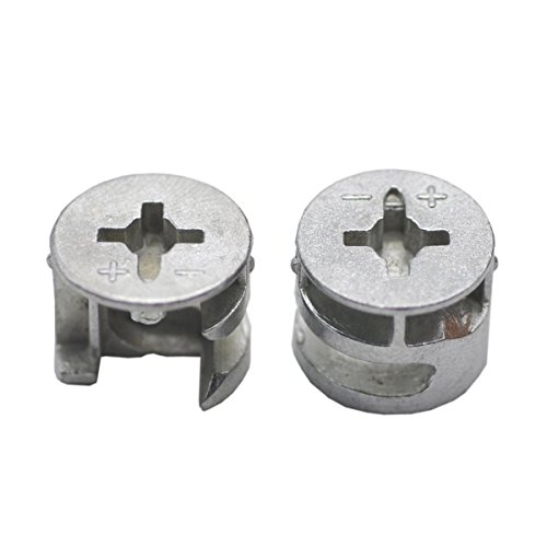 20 PCS Furniture Connecter Cam Lock Fittings 15mm x 12mm
