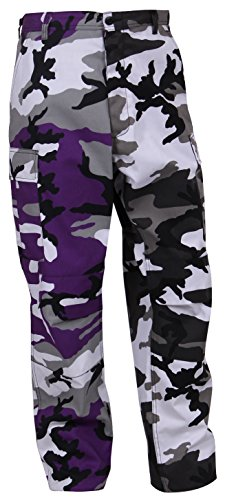 Rothco Two-Tone BDU Pants, Purple C…