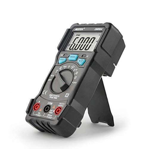 Busirsiz DM90A alta precisión del multímetro de 6000 cuentas DM90A auto rango de voltaje del electricista medidor digital de luz de flash Volver Meter Herramientas industriales