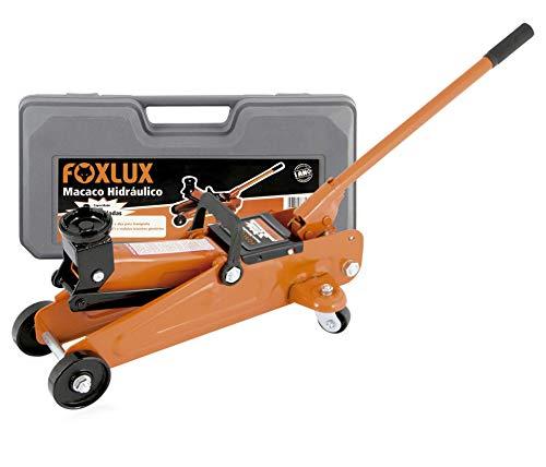 MacAco Hidráulico Foxlux - Atm 612 (6-5 kg) - Acompanha maleta - Capacidade para até 2 toneladas, Colorido