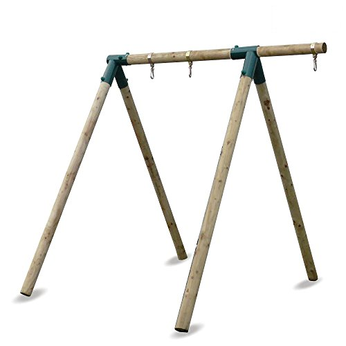 WICKEY Kinderschaukel Schaukelgestell Moonwalker - Schaukel, Schaukelgerüst, Einzelschaukel, Holzschaukel
