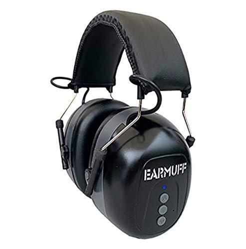 SNR 31db EARMUFF Bluetooth only Kapselgehörschutz Kopfhörer Gehörschützer