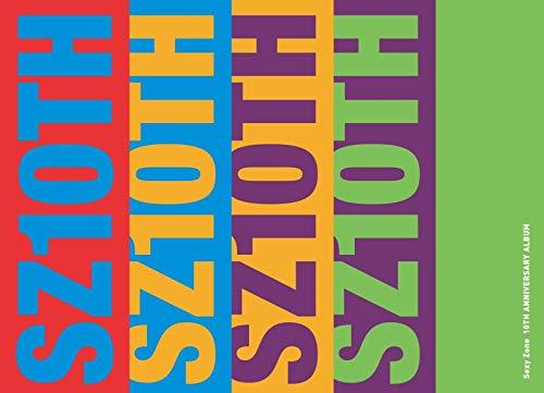 SZ10TH (初回限定盤B)(2CD+DVD)(3方背スリーブケース仕様)(特典:なし)
