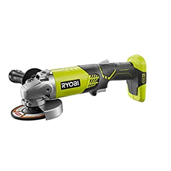 Ryobi One+ 18v Volt 4-1/2in Inch Angle Grinder Cut Off Tool P421  Bare Tool   Renewed