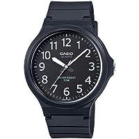 Casio Reloj Analógico para Hombre de Cuarzo con Correa en Plástico MW-240-1BVEF