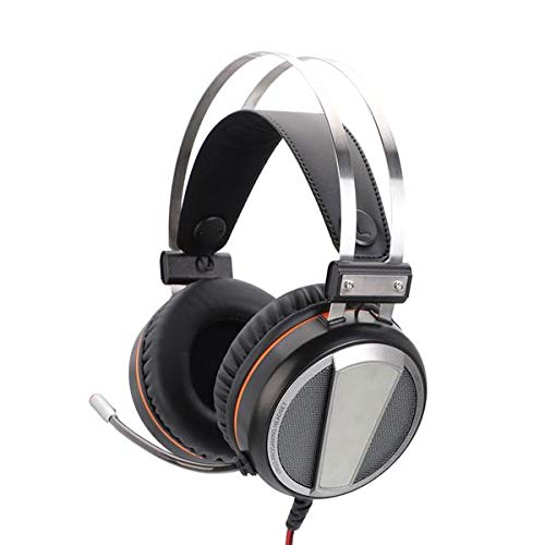 best-good Kingsea G601 Virtual 7.1 RGB Colorful Surround Sound Effect USB Gaming Headset with Mic Silver Gray(US Shipping)
