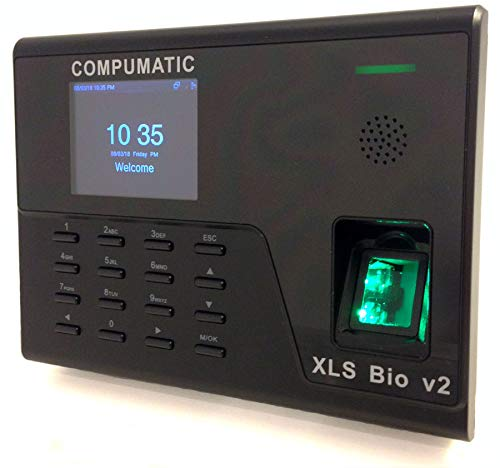 Compumatic (XLS Bio v2) Biometric Fingerprint Time Clock