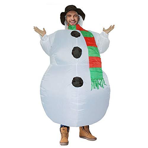 Disfraz Hinchable, Disfraz De Muñeco De Nieve Inflable De Carnaval, Disfraces De Disfraces Adultos De Halloween...