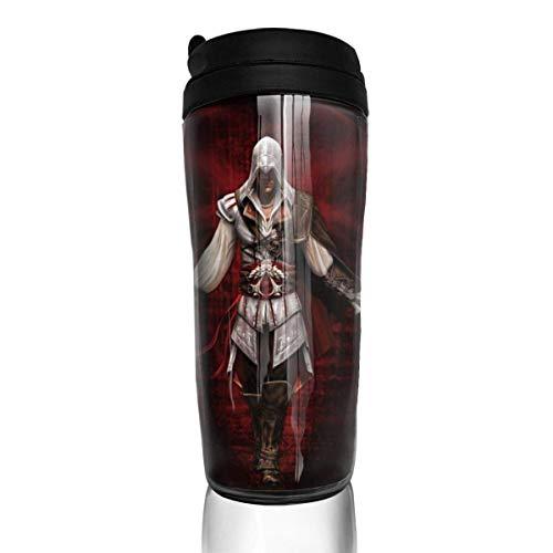 Assassin's Creed Reise-Kaffeebecher, doppelwandig, Vakuum, isoliert, Thermosbecher, 340 ml