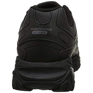 Skechers Sport Men's Afterburn Memory Foam Strike On Training Shoes,Black,10 M US