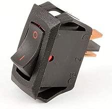 Carling Technologies RA901-VB-B-9-V X2 Switch, Rocker, Spst, 16A, 250V, Black (Pack of 2)