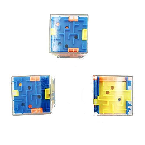 3D Cube Puzzle Maze Toy Hand Game Case Box Fun Brain Game Challenge Fidget Toys