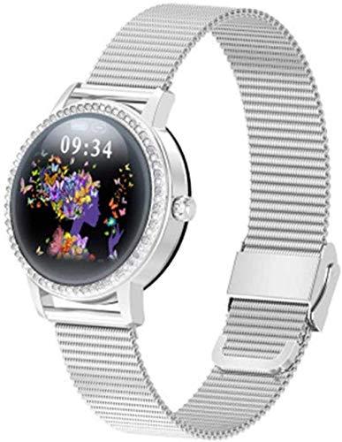 JSL Al aire libre impermeable Bluetooth Fitness Watch Presión arterial Oxígeno en la sangre Frecuencia Cardíaca Monitoreo de las señoras Multi-Sport Smart Watch-G-F
