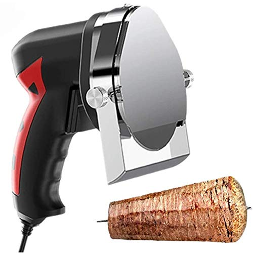 Stands Elektro Dönerschneider Manueller Grillschneider tragbares Küchen-Kebab-Messer Profi Imbiss Dönermesser Kebab Schneidemaschine