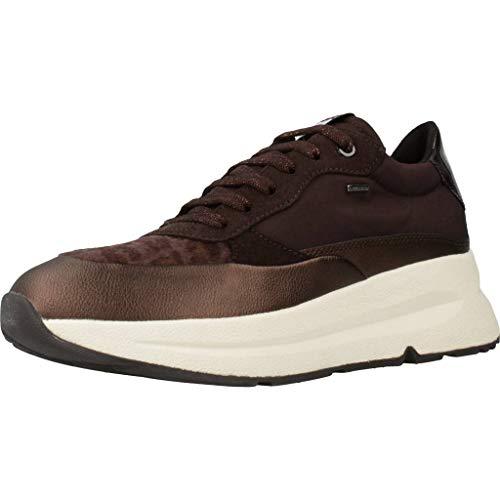 Geox Sportschuhe für Damen D94FPB 01122 D BACKSIE C6T6M DK Coffee Schuhgröße 39