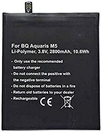 AccuCell - Batería para BQ Aquaris M5 BQ Aquaris 3120