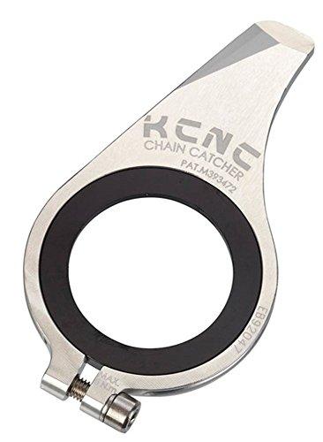 KCNC 自転車 軽量 チェーン外れ 脱落防止 チェーンキャッチャー 30-28T MTB シルバー 653570