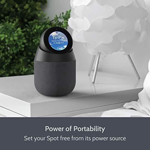 Vault Altoparlante Portatile per Amazon Echo Spot