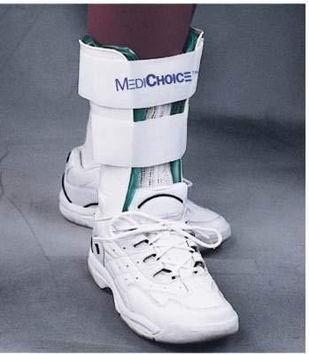 MediChoice Stirrup Ankle Brace, Lightweight Trainer w/Gel and Air Bladder, R or L Ankle, 9 Inch, 1314BRC3002 (Each of 1)