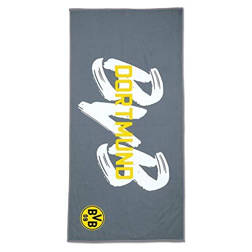 Borussia Dortmund Microfaser-Handtuch und Strandtuch aus der BVB-Kollektion (70x140 cm)