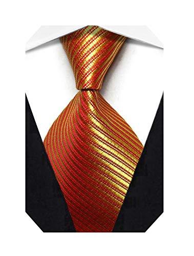 Wehug Lot 9 PCS Classic Mens tie 100/% Silk Tie Woven Jacquard Neckties Solid Ties for men