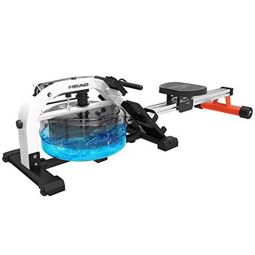 FYYDNR Máquina de Remo, Vientre Trainer Tool Fitness Ejercitador for Uso doméstico Avanzada de Remo de simulación 233 * 55 * 52cm Las Ruedas Que Sea movible