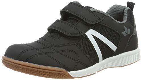 Lico First Indoor V Jungen Multisport Indoor Schuhe, Schwarz/ Grau, 34 EU