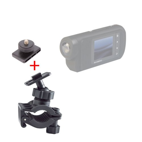 DURAGADGET Support Fixation vélo/VTT/BMX pour caméra embarquée Sony HDR-GW66VEB.CEN Caméscope Classique 1080p