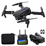 GoolRC LS-E525 RC Drone, FPV Drone with 4K HD Camera WiFi Live Video, Foldable RC Qudcopter with Headless Mode, Altitude Hold, Track Flight, 3D Filp, Storage Bag and 2 Batteries (Black)