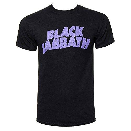 Black Sabbath - - T-Shirt de Logo Hommes en Noir, XX-Large, Black