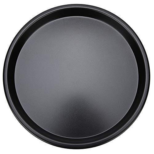 Bakplaat, 10 inch zwart aluminium spuitgieten Ronde vorm bakplaat, Non Stick Deep Oven bakvormen Bakken, braadpan, Non-stick Pizza Tray Bakgereedschap Bakapparatuur