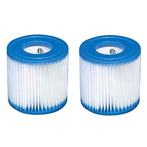 JYWJ Filterkartusche für Bestway Typ VI. Filter für Schwimmbad, Whirlpool oder Spa, ersetzt Filterkartuschen