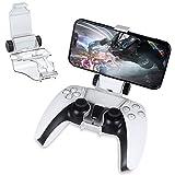 GameHome Soporte Smartphone Holder Compatible para PS5, Soporte Clip Sujeción para teléfono móvil Ajustable Compatible para Playstation 5 Controlador ( Sólo Soporte)