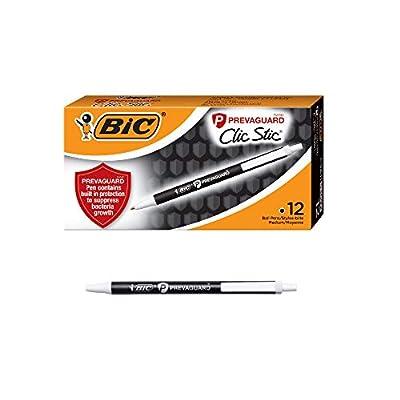 BIC PrevaGuardClic Stic Ballpoint Pen Contains ...