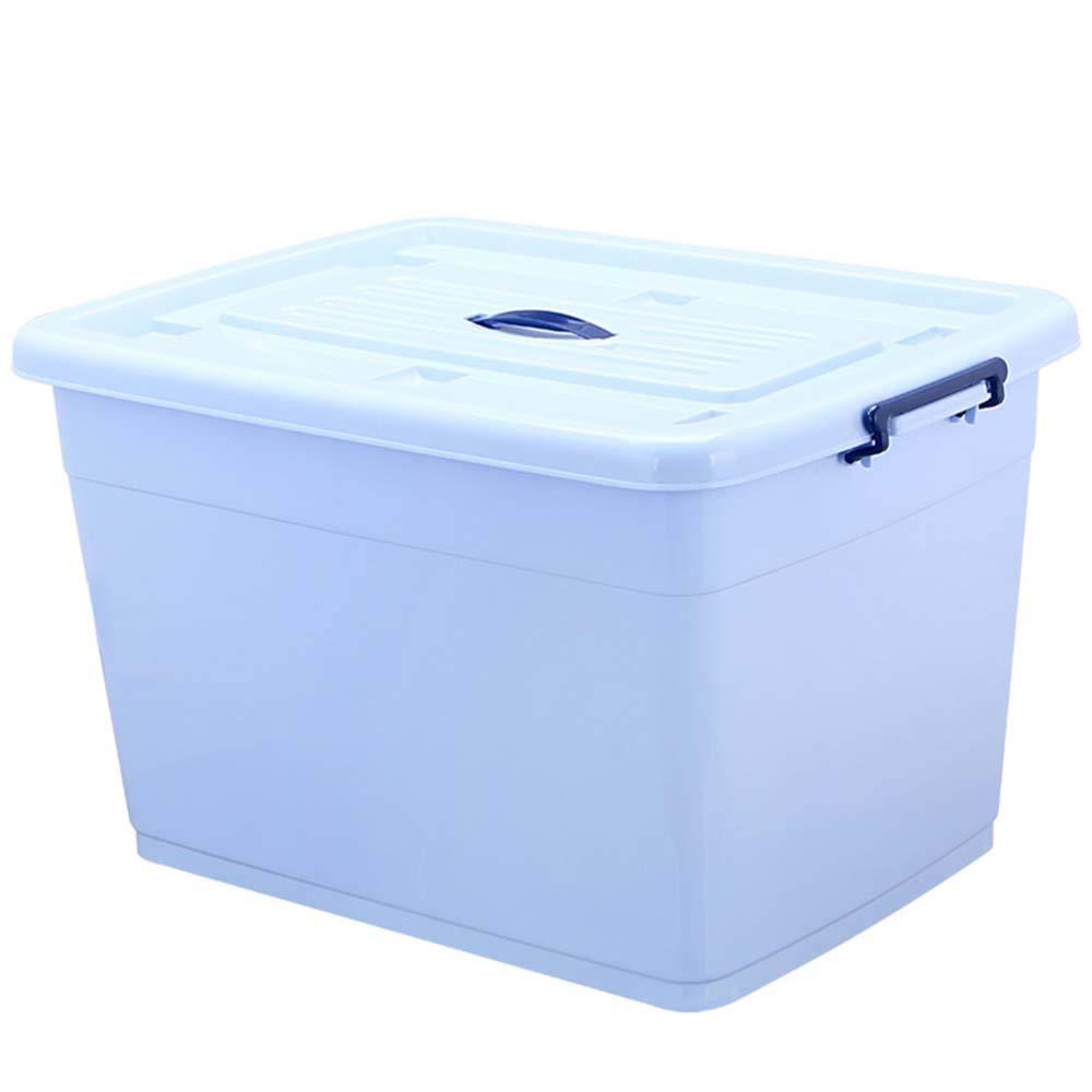 Caja de almacenamiento en seco, de plástico, grande, para el hogar, el armario, el dormitorio, la ropa de los niños, cajas de almacenamiento con tapas, Material, D, 170L: Amazon.es: Hogar