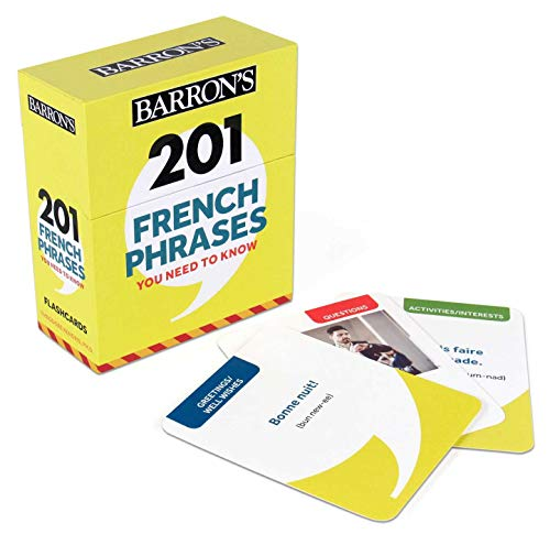 Barron's 201 French Phrases You Need to Know
