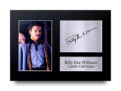 HWC Trading Billy Dee Williams A4 Ungerahmt Signiert Gedruckt Autogramme Bild Druck-Fotoanzeige Geschenk Für Star Wars Lando Calrissian Filmfans