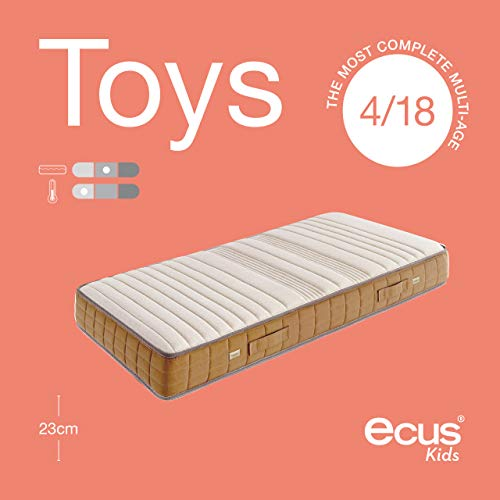 Ecus Kids El Colchón de Niño Multietapa, 190x090
