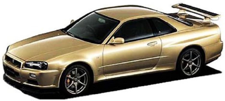 ahorra hasta un 70% 1 24 24 24 Nissan BNR34 Skyline GT-R M-Spec, Nur Version by Aoshima  Envío rápido y el mejor servicio