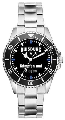 Duisburg Geschenk Artikel Idee Fan Uhr 2312