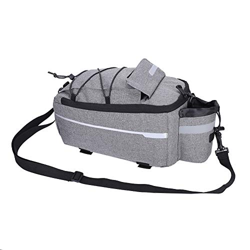 Affordable Nuolate2019 Bicycle Rear Seat Bag Bike Tail Storage Pouch Outdoor Cycling Rack Trunk Pack...