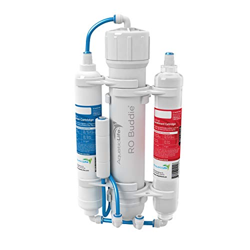 Aquatic Life RO Buddie Three Stage Reverse Osmosis Deionization Unit 100 GPD