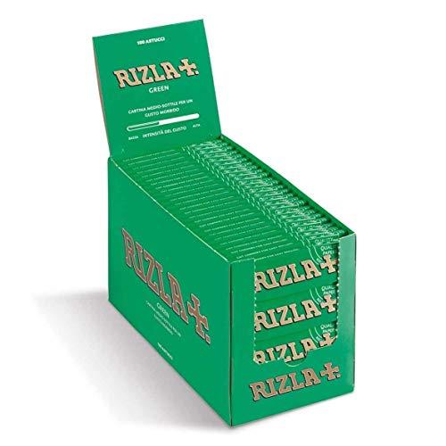 Rizla Zigarettenpapier, Grün, 100Heftchen