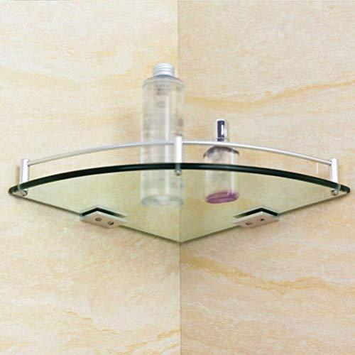 Shelf Handdoek Rek Driehoek Douche Glas Hoek Plank Badkamer Douchebak Opslagmand voor Ophangbad Accessoires (Maat: 200mm) 200mm