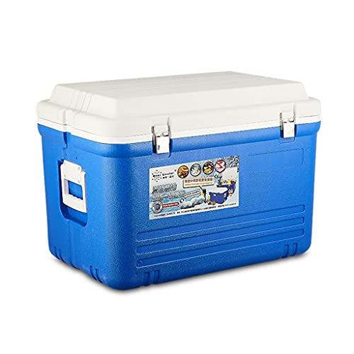 Yousiju Incubadora para Exteriores de 65 l con Ruedas, a Bordo, mariscos, conservación del frío y conservación de la frescura, heladera doméstica congelada, Cubo de Hielo